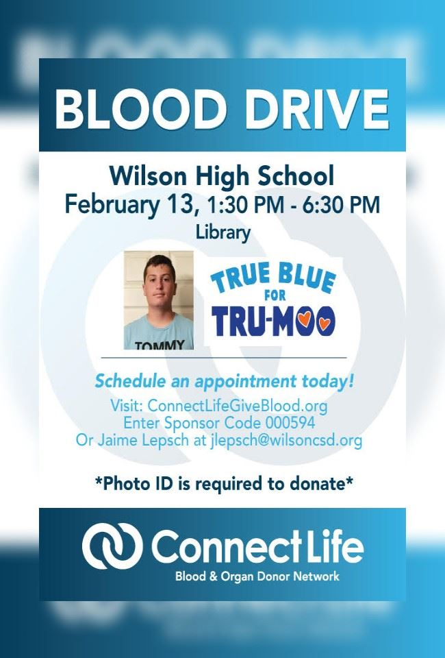 True Blue Blood Drive