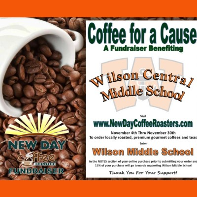 Stock up on coffee AND support WCSD Middle School!