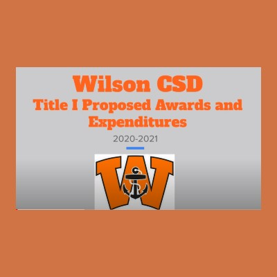 Title 1 Proposed Awards & Expenditures